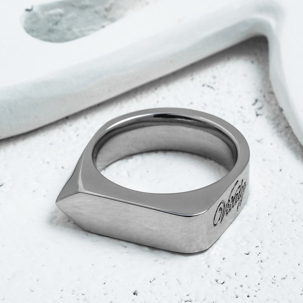 VITALY ODAK RING IN STEEL  - 2