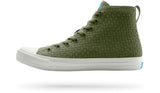 PEOPLE FOOTWEAR PHILLIPS HIGH-TOP SNEAKERS IN EXPEDITION GREEN  - 1