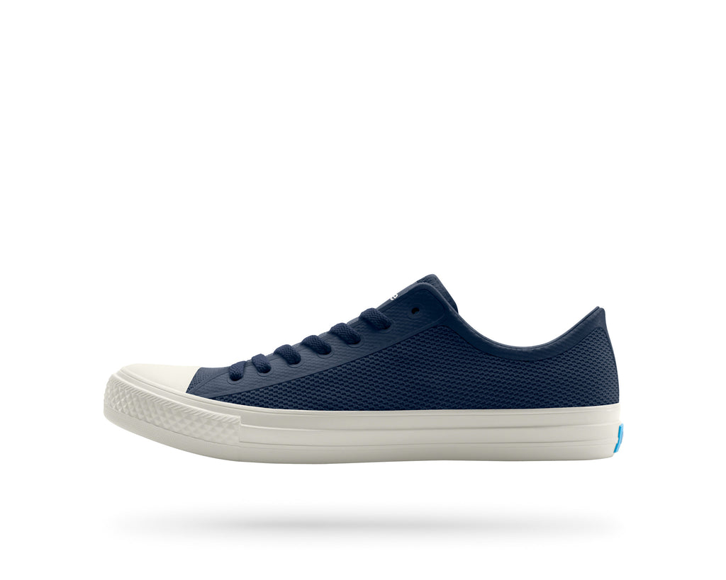 PEOPLE FOOTWEAR PHILLIPS SNEAKERS IN MARINER BLUE AND PICKET WHITE  - 1