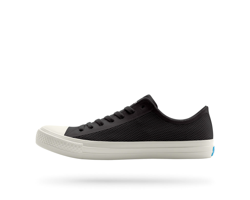 PEOPLE FOOTWEAR PHILLIPS SNEAKERS IN REALLY BLACK AND PICKET WHITE  - 1