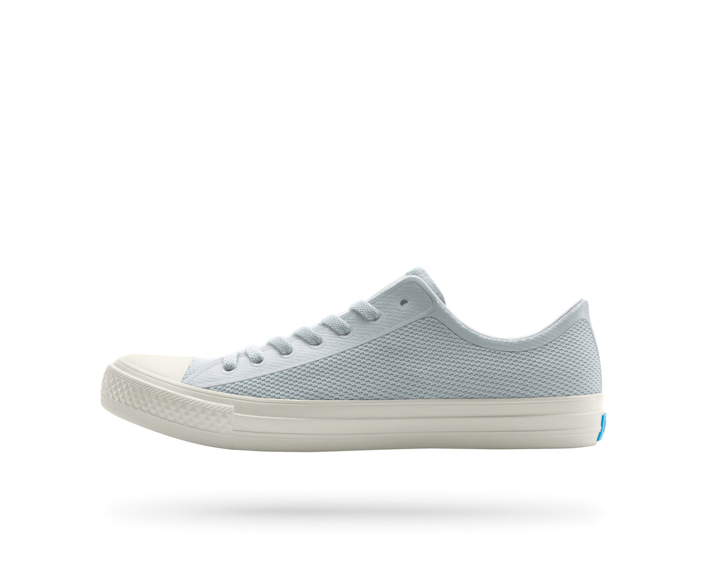 PEOPLE FOOTWEAR PHILLIPS SNEAKERS IN SKYLINE GREY AND PICKET WHITE  - 1