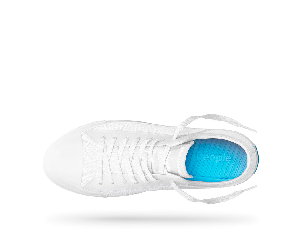 PEOPLE FOOTWEAR PHILLIPS SNEAKERS IN YETI WHITE  - 2