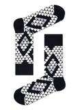 HS SNAKE SOCK IN BLACK