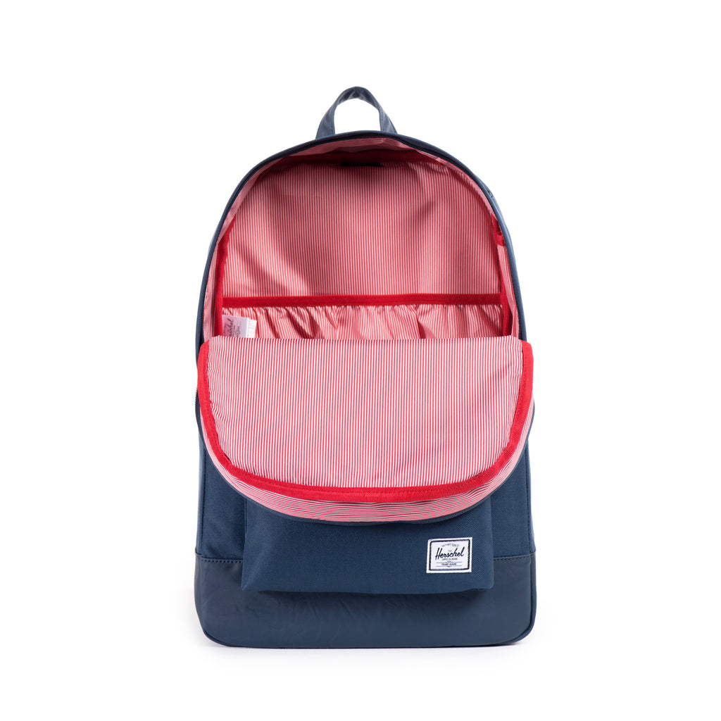 HERSCHEL HERITAGE BACKPACK IN NAVY  - 4