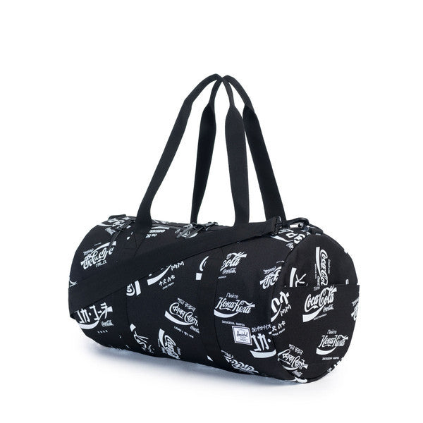 HERSCHEL X COCA-COLA SPARWOOD DUFFLE BAG IN BLACK  - 2