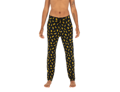 SAXX SNOOZE PANT IN BLACK BANANA-RAMA