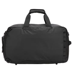 SULLY & SON OKI CONVERTIBLE DUFFLE BAG IN BLACK