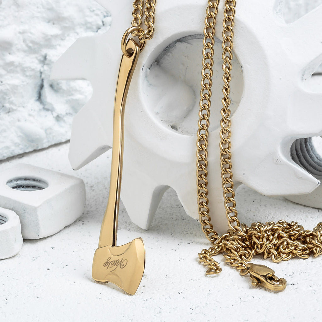VITALY SEQUOIA NECKLACE IN GOLD