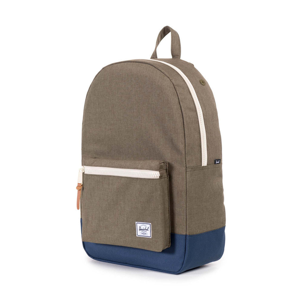 HERSCHEL SETTLEMENT BACKPACK IN BEECH CROSSHATCH AND NAVY  - 3
