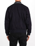 FRED PERRY TWIN TIPPED BOMBER JACKET IN NAVY  - 4
