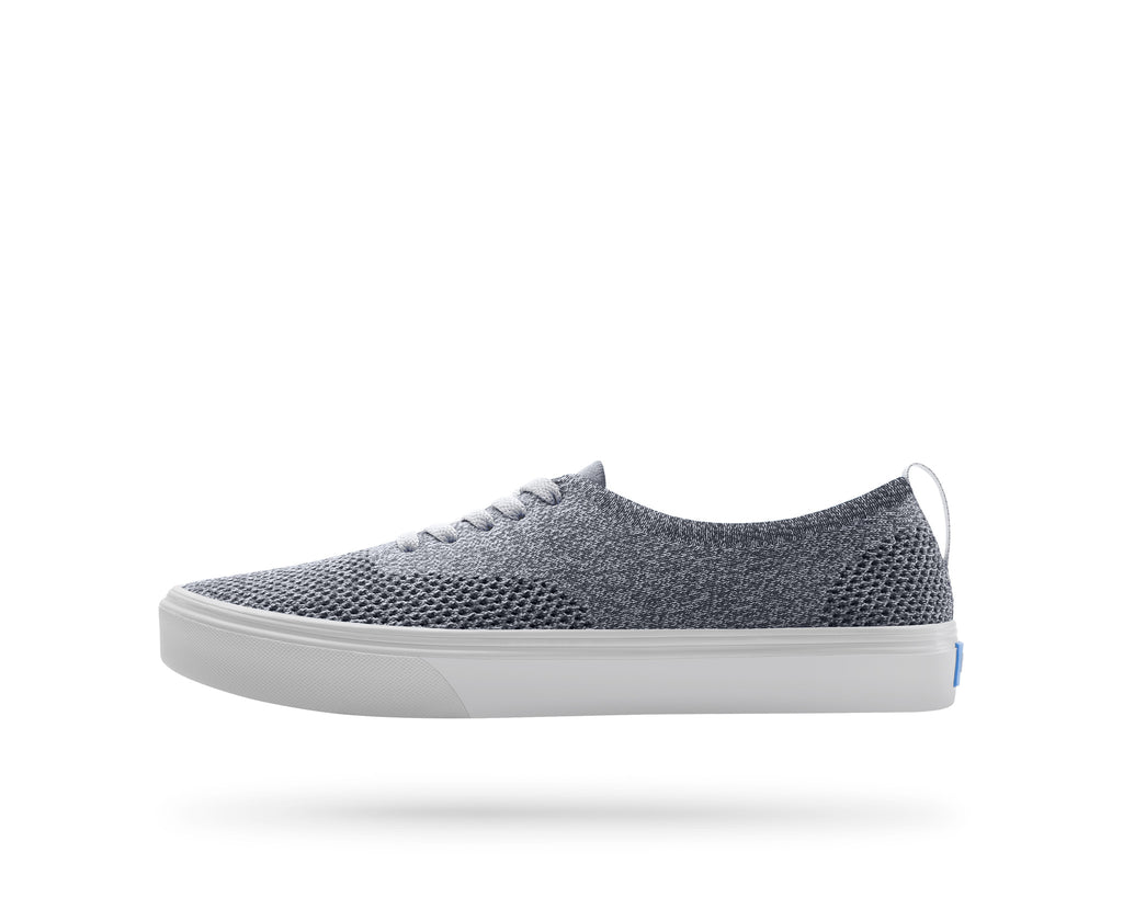 PEOPLE FOOTWEAR STANLEY KNIT SNEAKERS IN HEATHERED GREY AND SKYLINE GREY  - 1