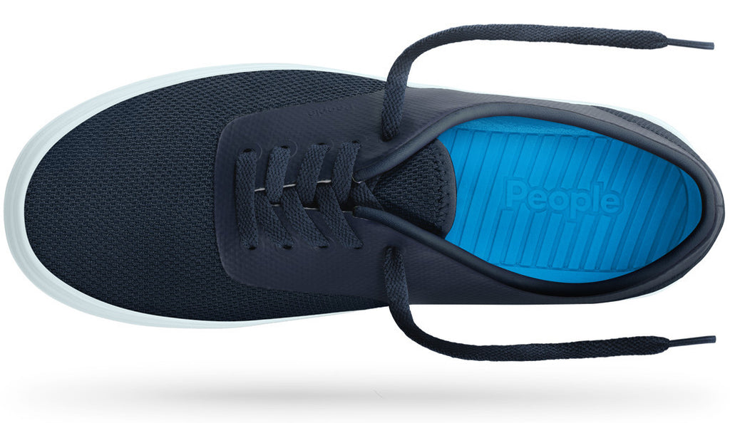 PEOPLE FOOTWEAR STANLEY SNEAKERS IN PADDINGTON BLUE AND BEACHGLASS BLUE  - 2