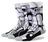 Star Wars The Force Awakens Rogue One Star Wars Fan Instance Storm Trooper Triple Socks
