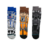 Star Wars The Force Awakens Rogue One Star Wars Fan Limited Edition Instance A New Hope 3-pack Collection Individual Socks