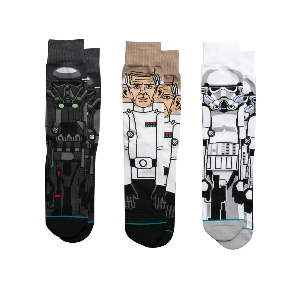 Star Wars The Force Awakens Star Wars Fan Limited Edition Instance Rogue One 3-pack Collection Individual Socks