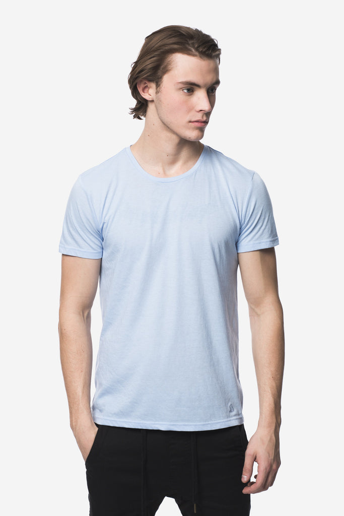 KUWALLA TEE CREW-NECK T-SHIRT 3-PACK IN SHADES OF BLUE  - 2