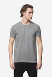 KUWALLA TEE CREW-NECK T-SHIRT 3-PACK IN SHADES OF GREY  - 2
