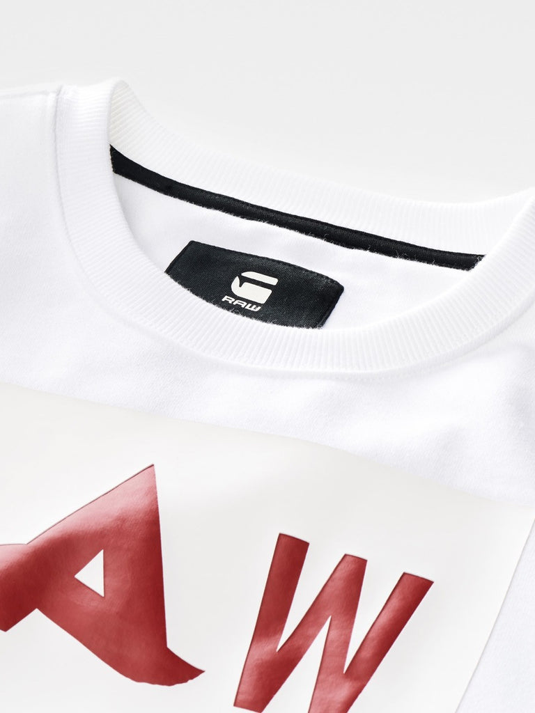 The Best Mens Fashion Urban Style and Streetwear Brands G-Star Afrojack Sweatshirt in White Detail 1
