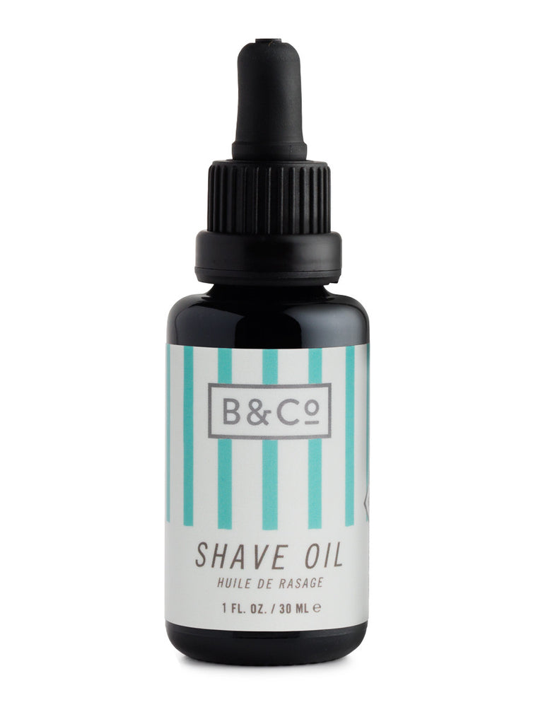 The Best Mens Style and Men Fashion Barber & Co  No.07 Shave Oil Front