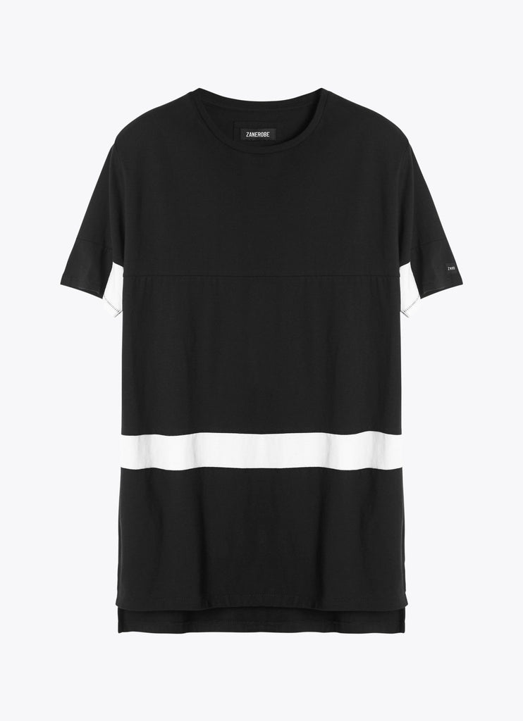 The Best Streertwear Brands and Urban Style Zanerobe Broken Flintlock T-Shirt in Black and White Flat