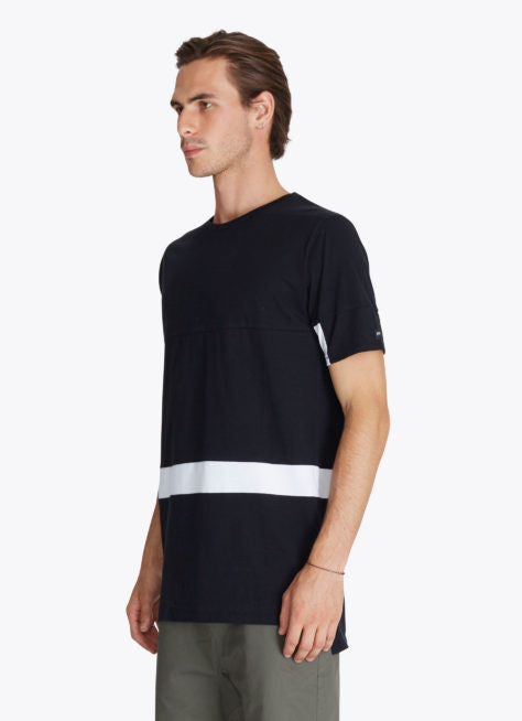 The Best Streertwear Brands and Urban Style Zanerobe Broken Flintlock T-Shirt in Black and White Side