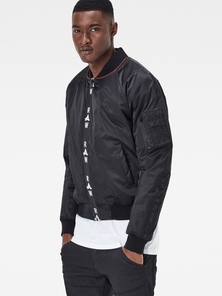 G-Star X Afrojack Sports Bomber in Black