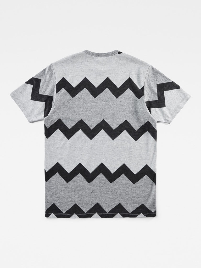 The Best Streetwear Brands Mens Fashion and Urban Style G-Star by Marc Newson IND Zig-Zag T-Shirt Back