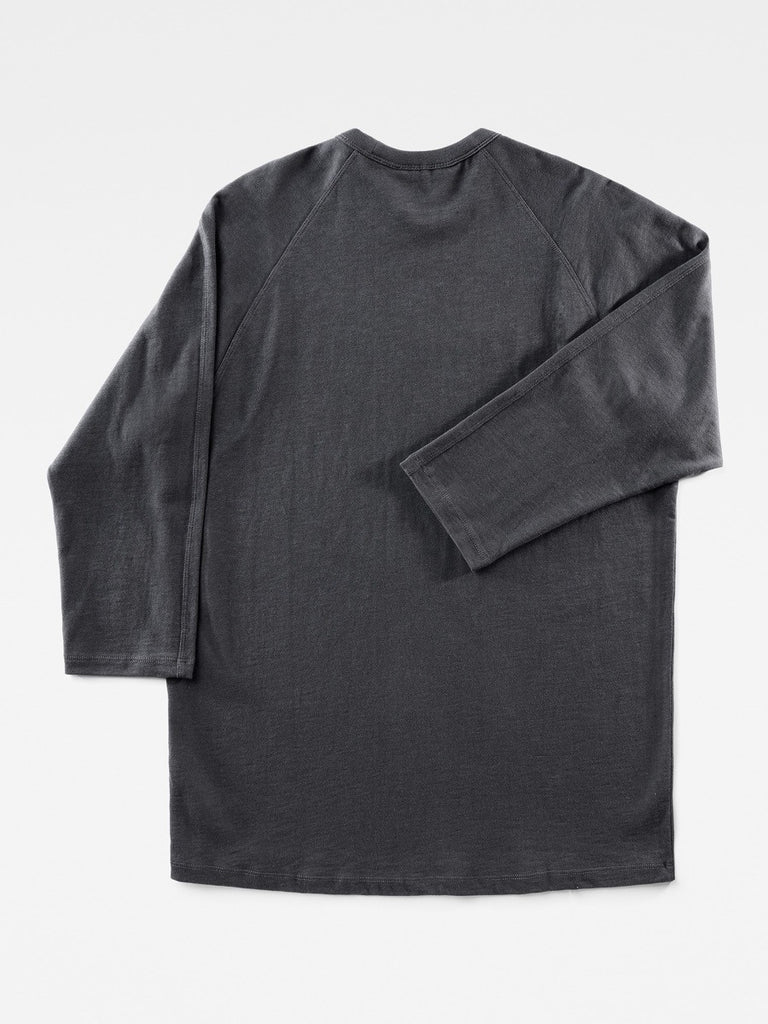 The Best Streetwear Brands and Urban Style G-Star by Marc Newson Ultimate Jersey Longsleeve T-shirt in Pedal Grey Back