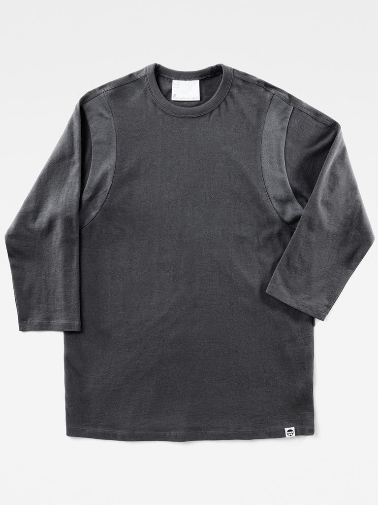 The Best Streetwear Brands and Urban Style G-Star by Marc Newson Ultimate Jersey Longsleeve T-shirt in Pedal Grey Front