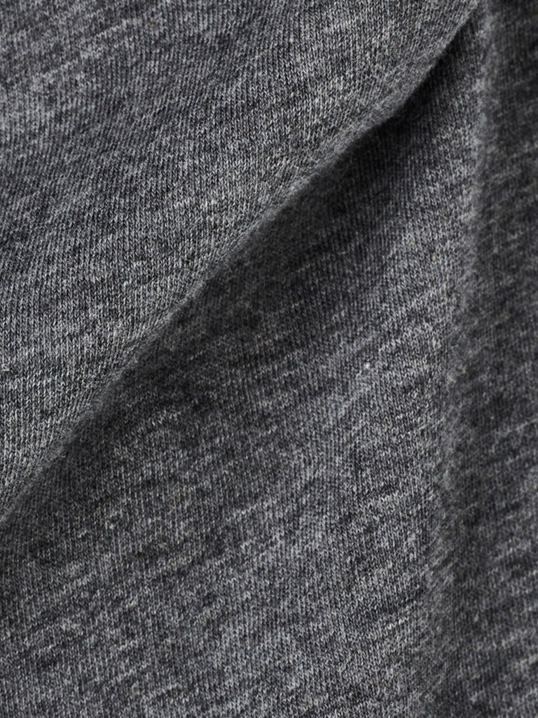 The Best Streetwear Brands and Urban Style G-Star lassic Granddad Longsleeve Henley in Grey Heather Detail 2