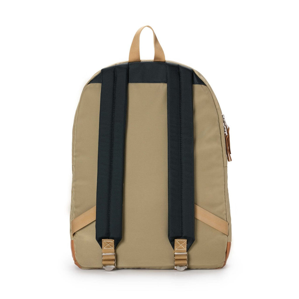 Taikan Lancer Backpack in Navy/Beige/Tan Leather  - 3