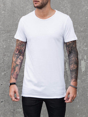 VITALY FISHTAIL T-SHIRT IN WHITE  - 2