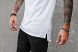 VITALY FISHTAIL T-SHIRT IN WHITE  - 4