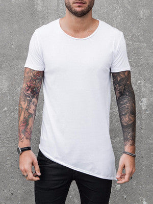 VITALY A-CUT T-SHIRT IN WHITE  - 1