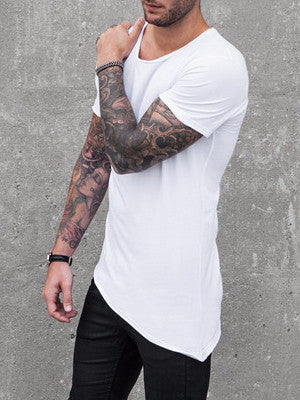 VITALY A-CUT T-SHIRT IN WHITE  - 2