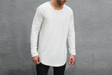 VITALY DOUBLE SCOOP SWEATER IN OFF-WHITE  - 2