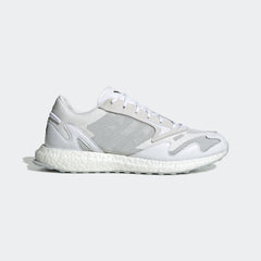 Y-3 RHISU RUN SNEAKERS IN WHITE