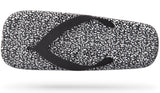 PEOPLE FOOTWEAR YOKO FLIP FLOP IN BLACK RICE PRINT  - 2