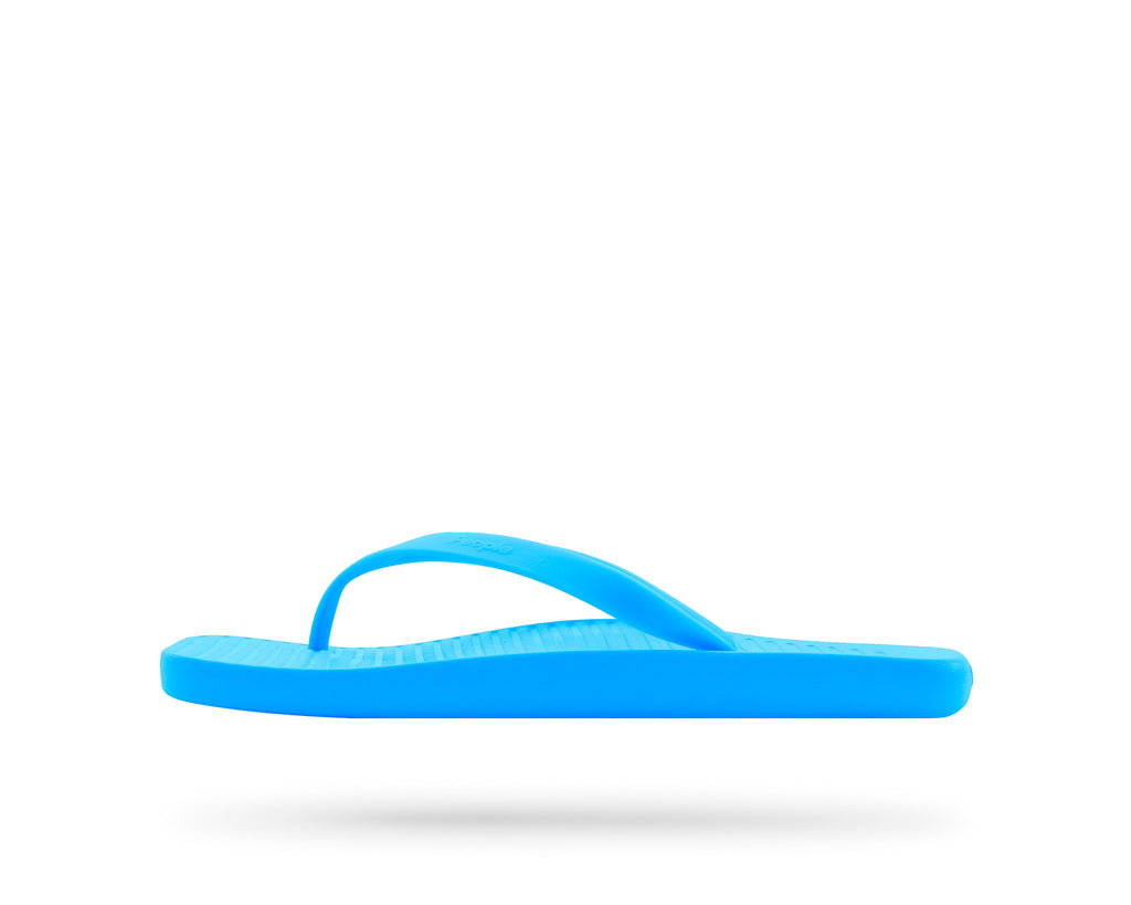 PEOPLE FOOTWEAR YOKO FLIP FLOP IN HAWAIIAN BLUE  - 1