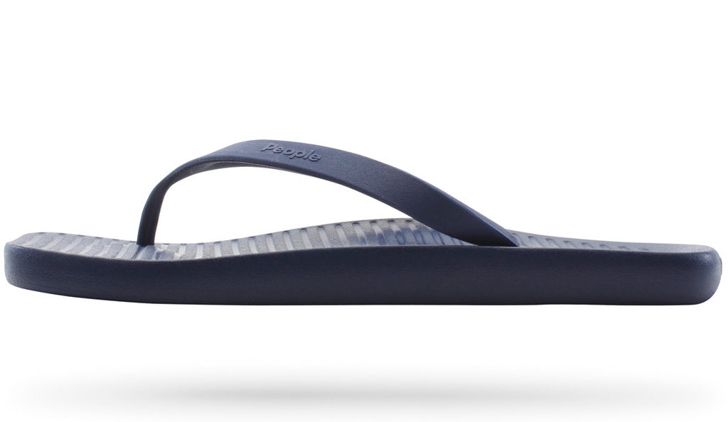PEOPLE FOOTWEAR YOKO FLIP FLOP IN MARINER BLUE