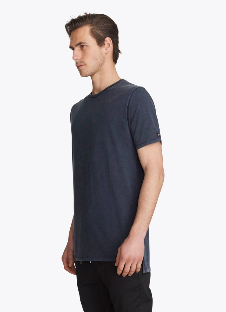 ZANEROBE FLINTLOCK TEE IN NAVY ACID  - 3