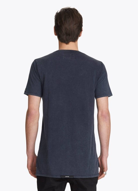 ZANEROBE FLINTLOCK TEE IN NAVY ACID  - 2