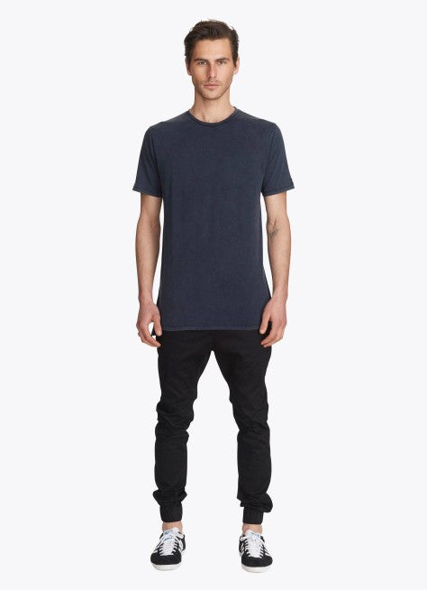 ZANEROBE FLINTLOCK TEE IN NAVY ACID  - 4