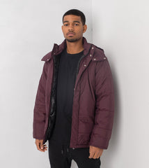 ZANEROBE PADDO PUFFER JACKET IN PORT