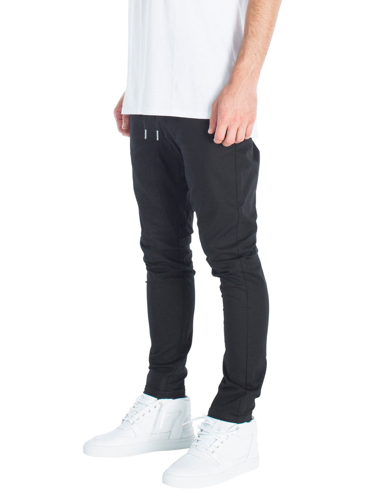 ZANEROBE SALERNO CHINO IN BLACK  - 2