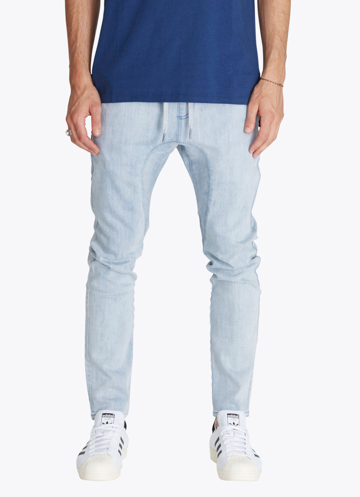 ZANEROBE SALERNO DENIM JEANS IN WHITE WASH  - 1