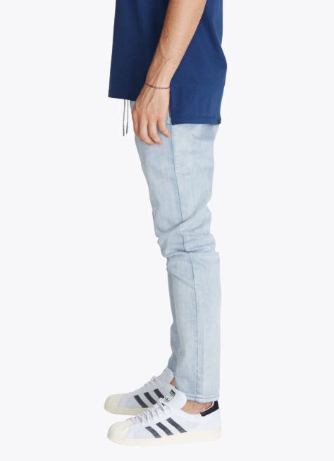 ZANEROBE SALERNO DENIM JEANS IN WHITE WASH  - 3