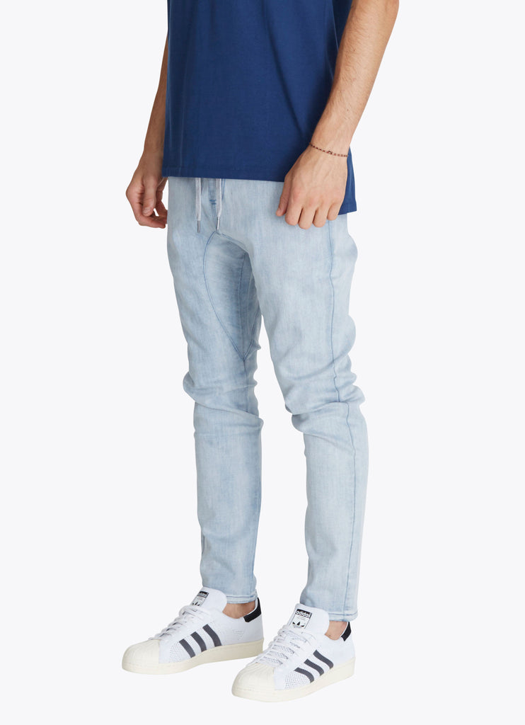 ZANEROBE SALERNO DENIM JEANS IN WHITE WASH  - 4