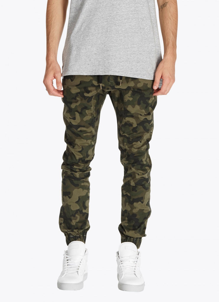 ZANEROBE SURESHOT JOGGER PANT IN CAMOUFLAGE  - 1