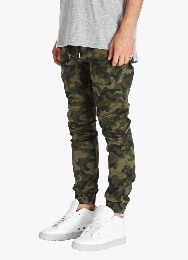 ZANEROBE SURESHOT JOGGER PANT IN CAMOUFLAGE  - 2